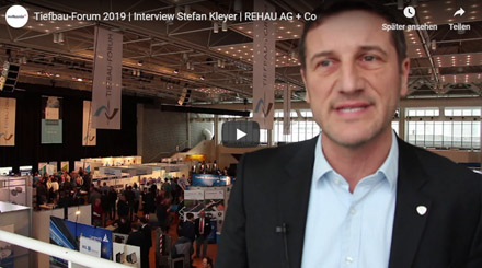 Stefan Kleyer, Vertriebsleiter Watermanagement bei REHAU AG + Co